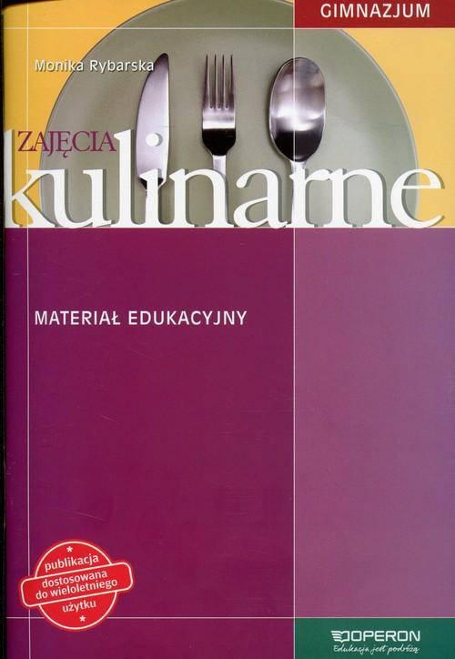 Zajęcia kulinarne Materiał edukacyjny Gimnazjum