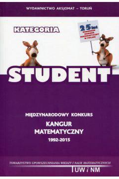 Kangur matematyczny 1992-2015 Student-