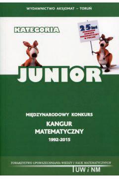 Kangur matematyczny 1992-2015 Junior