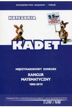 Kadet-Kangur matematyczny 1992-2015