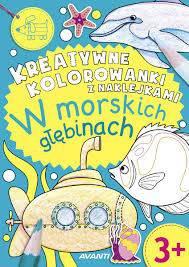 W morskich głębinach Kolorowanka
