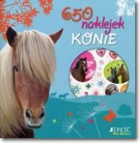 650 naklejek Konie