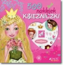 500 naklejek Księżniczki
