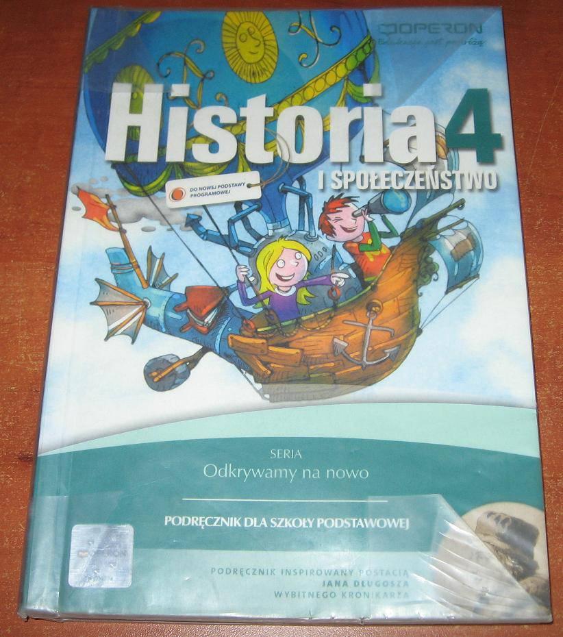 Historia i społeczeństwo klasa 4 podręcznik odkrywamy na nowo - książka używana
