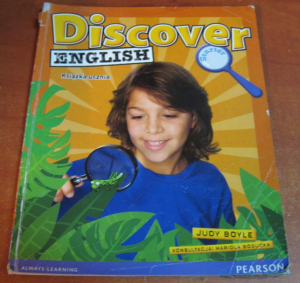 Discover English Starter Książka ucznia - książka używana