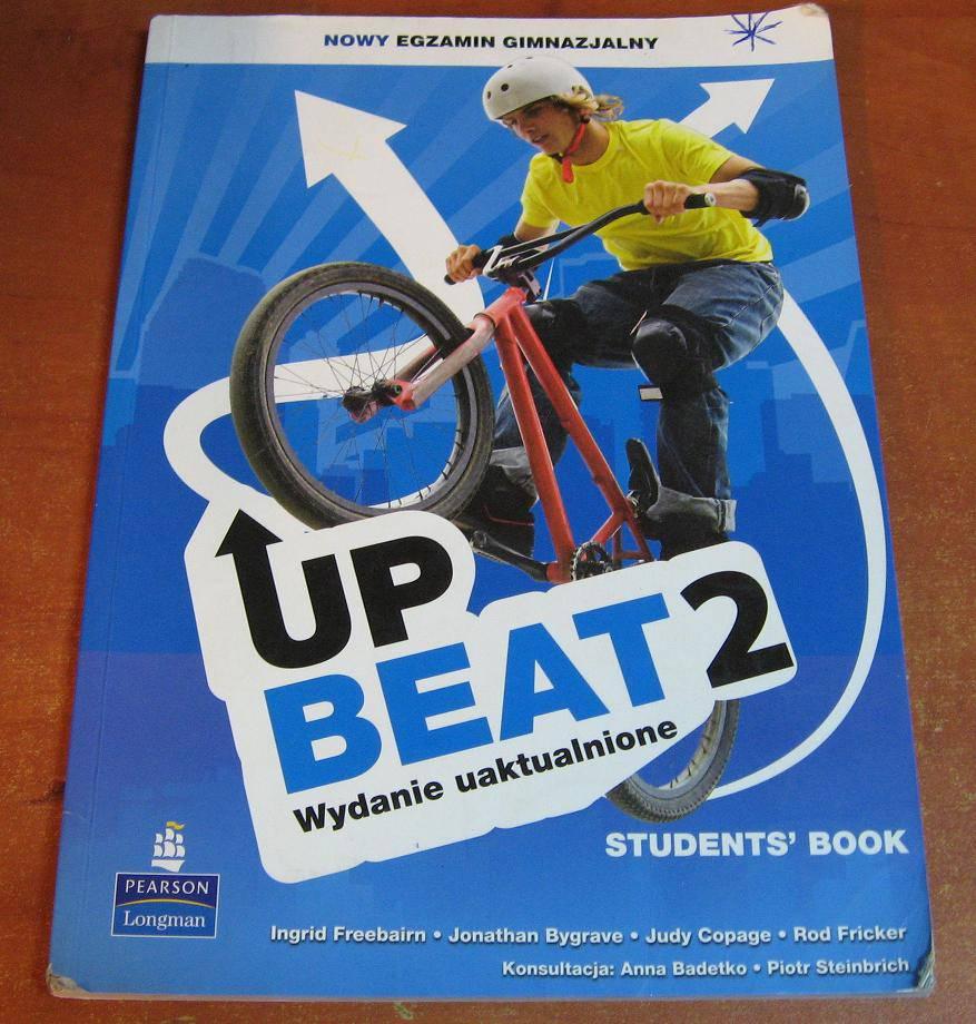 Upbeat 2 Student's Book Nowy egzamin gimnazjalny - podręcznik używany