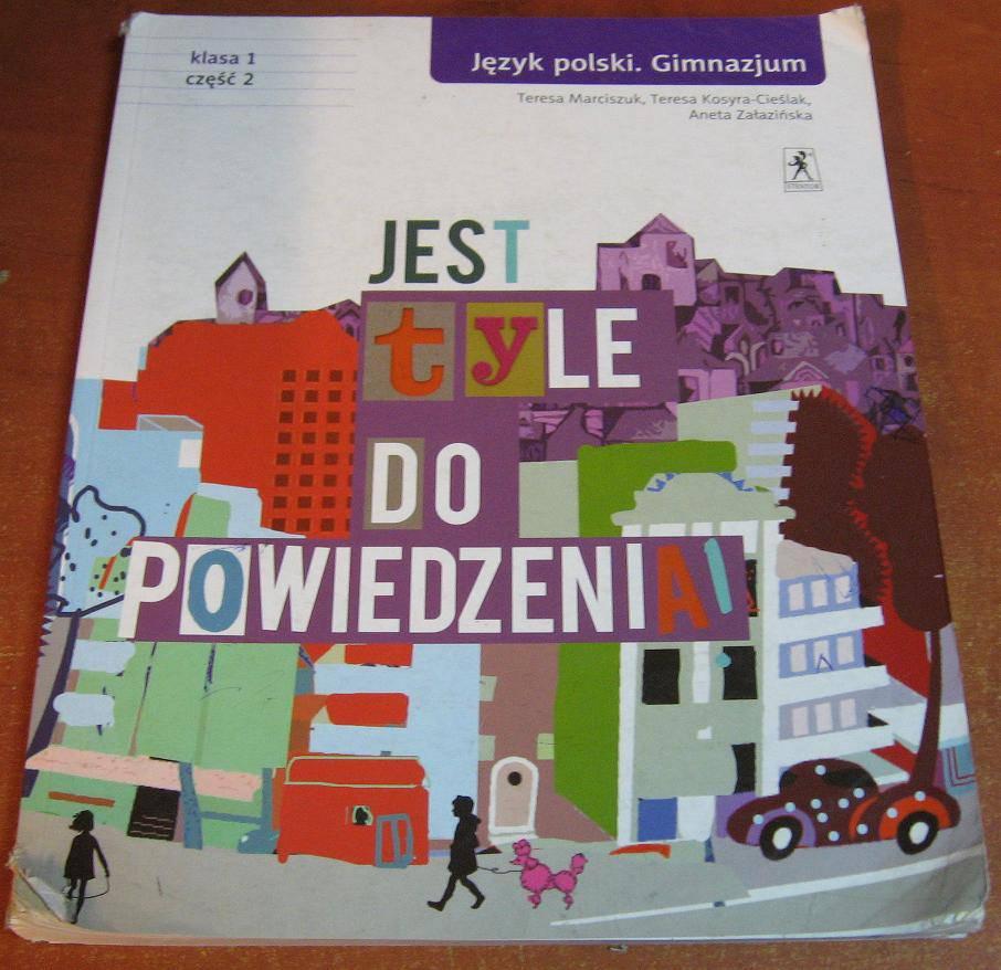 Jest tyle do powiedzenia 1 Język polski Podręcznik Część 2 - książka używana