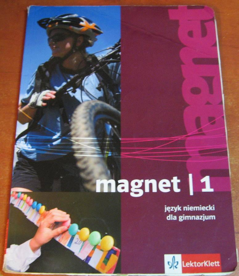 Magnet 1 Język niemiecki Podręcznik - Podręcznik używany