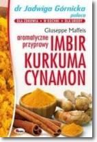 Aromatyczne przyprawy imbir kurkuma cynamon