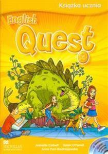 English Quest 3 podręcznik z płytą CD