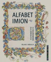 Alfabet imion 32 kolorowanki dla dorosłych