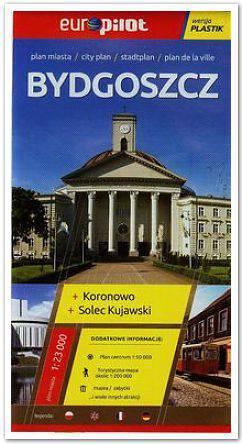 Bydgoszcz plan miasta+ Koronowo Solec Kujawski