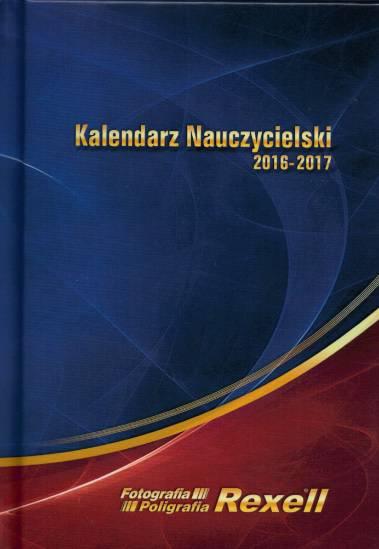 Kalendarz nauczycielski Rexell 2016/2017