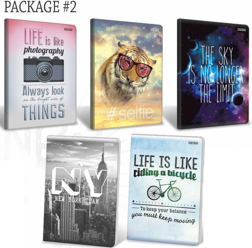 Kołozeszyt A5 80 kartkowy kratka TOP2000 Package#2