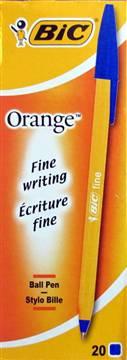 Długopis bic orange Niebieski wkład