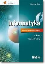 Informatyka dla szkół ponadgimnazjalnych podręcznik zakres rozszerzony