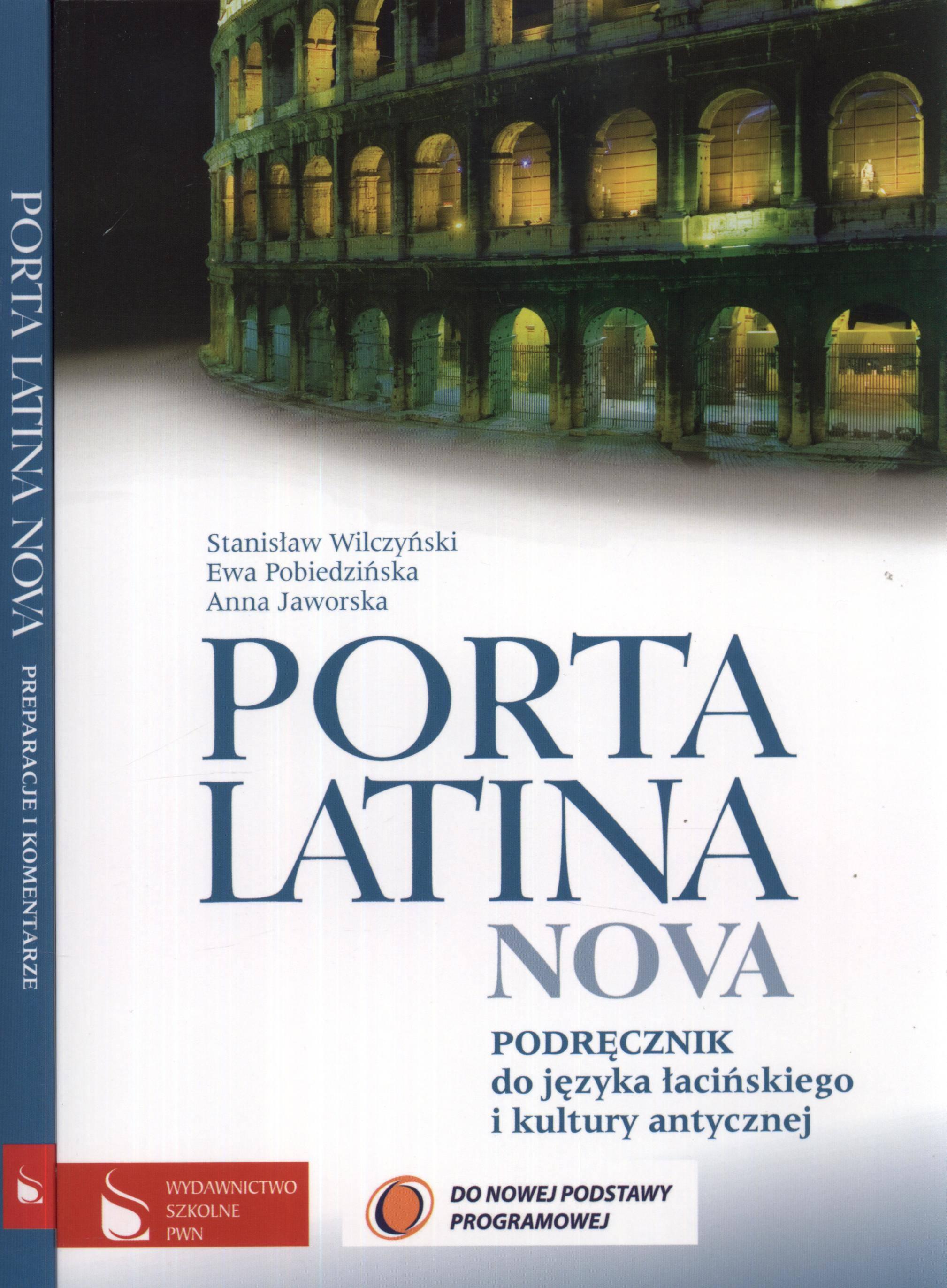 Porta latina nova podręcznik preparacje i komentarze