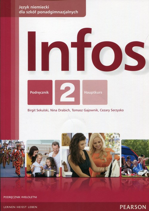 Infos 2 Podręcznik wieloletni z płytą CD