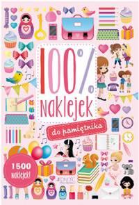 100% naklejek do pamiętnika