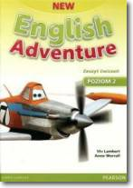 English Adventure New 2 WB + CD PEARSON