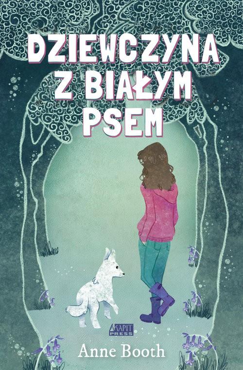 Dziewczyna z białym psem