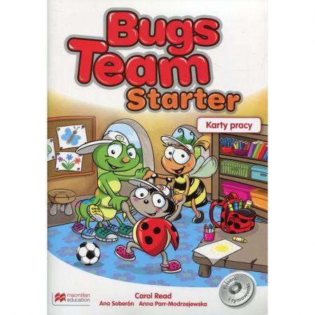 Bugs team starter-karty pracy