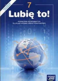 Informatyka Lubię to! 7 Podręcznik 2017
