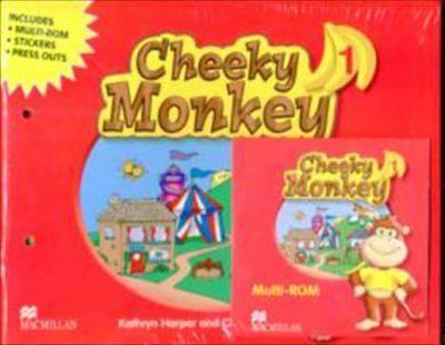 Cheeky Monkey Angielski część 1. Podręcznik z CD. Przedszkole