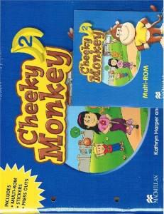 Cheeky Monkey Angielski część 2 Przedszkole Książka ucznia