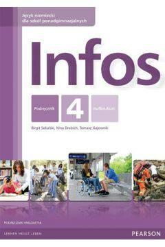 Infos 4 kurs wieloletni + CD PEARSON