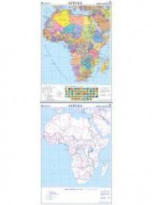 Afryka. Mapa ścienna