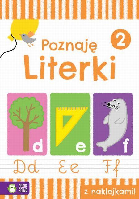 Akademia przedszkolaka Poznaję literki Zeszyt 2