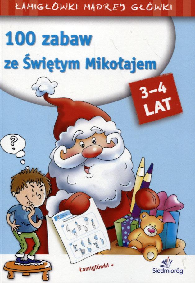 100 zabaw ze Świętym Mikołajem