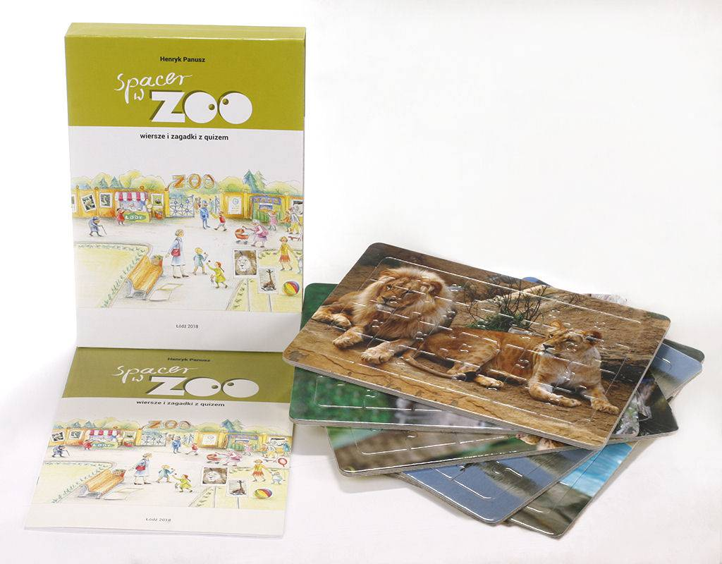 Spacer w zoo wiersze i zagadki z quizem