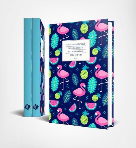 Notatnik Lux Flamingi