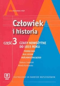 Człowiek i historia Część 3 Podręcznik Czasy nowożytne do 1815 roku