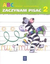 ABC Zeszyt sześciolatka Zaczynam pisać Część 2