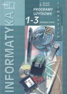 Informatyka 1-3 gimnazjum - programy użytkowe - podręcznik część 2