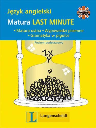 Matura last minute. Język angielski