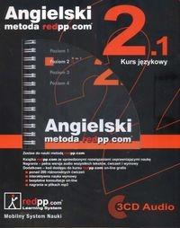 Angielski metoda redpp.com Kurs językowy poziom 2.1 + 3CD