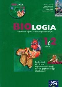 Biologia 1 i 2 Podręcznik z płytą CD