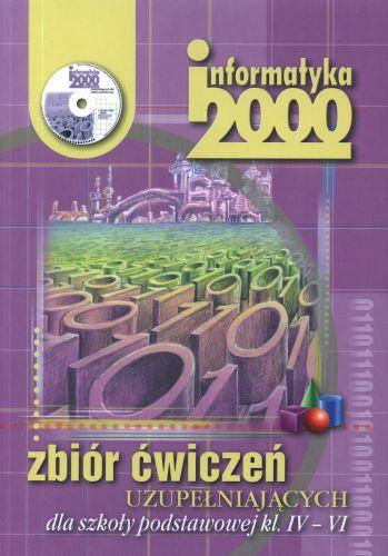 Informatyka, klasa 4-6, Informatyka 2000, ćwiczenia, Czarny Kruk + CD