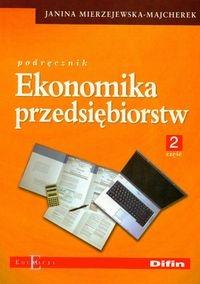 Ekonomika przedsiębiorstw Podręcznik część 2