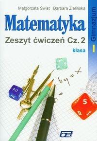 Matematyka 1 Zeszyt ćwiczeń część 2