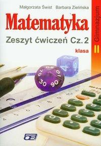 Matematyka 2 zeszyt ćwiczeń część 2