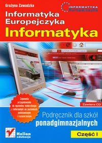 Informatyka europejczyka cz.1 szk-śr-podręcznik