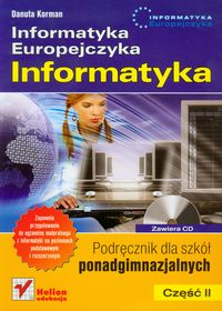 Informatyka europejczyka cz.2 szk.śr-podręcznik