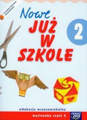 Nowe już w szkole kl.2 cz.2-wycinanka