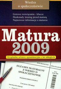 Wiedza o społeczeństwie matura 2009