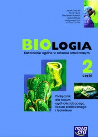 Biologia część 2 szkoła średnia - podręcznik zakres rozszerzony
